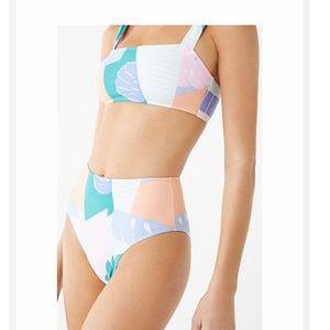 NWT! Forever 21 high waisted bikini